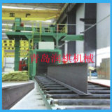 Alta macchina di granigliatura dell'artificiere del colpo del piatto d'acciaio di pulizia