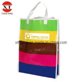 Sac à provisions promotionnel de sacs d'emballage d'impression de Cmyk de laminage