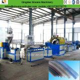 Maquinaria reforçada fibra da fabricação da mangueira flexível do PVC