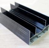 Het zwarte Anodiseren het Profiel van het Aluminium voor de Glijdende Deklaag van het Poeder, Thermische Onderbreking, het Anodiseren, het Zilveren Oppoetsen, het Gouden Oppoetsen