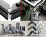 Portes en aluminium de tissu pour rideaux glacées par double de prix usine de Zhejiang