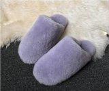 Ботинки дома шерсти овчины 100% реальные для женщин и людей