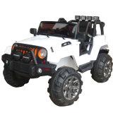 Balade en voiture, jeep 12V chariot alimenté 2 RM, MANUEL/ Modes de contrôle à distance Parental chariot avec les phares du véhicule, MP3 Port, de la musique, avertisseur sonore pour les enfants