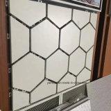 Panneaux de façade en aluminium Façade murale en fibre de verre en aluminium