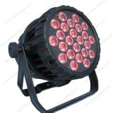 6/PCS 24PCS 4 en 1 IGUALDAD enciende la lámpara para la lámpara del partido del club para el partido de la luz de la música de los discos
