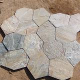 自然な石造りの床の装飾の屋内スレートのFlagstone (SMC-Y054)