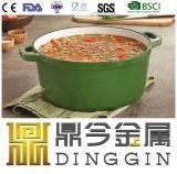 Зеленые суп чугунная емкость