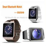 형식 Bluetooth 이어폰 Dz09를 가진 지능적인 시계 전화