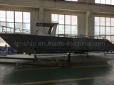 19.5 FT Barco de pesca de lazer de alumínio com cabine central e Hardtop