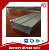 Capa del polvo de Polvo-Revestido-Aluminio-Perfil-para-Windows, rotura termal, anodizando, plata que pule, polaco de oro
