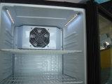 Único Showcase de vidro do indicador do refrigerador da porta (SC98)