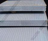 Plaque Checkered d'acier inoxydable