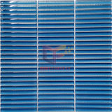 Плитка мозаики синей прокладки стеклянная (PT56)