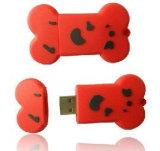 Movimentação instantânea da pena do USB do PVC do costume por atacado 3D