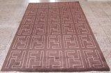 Couvertures orientales de région de laines, tuile de tapis, couvre-tapis