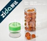 ペットは空の食糧瓶のプラスチック空のプラスチック瓶を震動させる