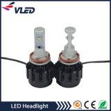 최신 판매 방수 최고 밝은 LED 차 헤드라이트 H11 자동차 헤드라이트