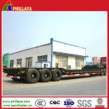 3 assen 80 Ton van de Machine die de Lage Aanhangwagen van de Lader Vervoer