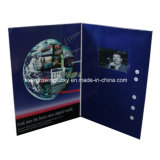 Video cartolina d'auguri di affari dello schermo su ordinazione dell'affissione a cristalli liquidi