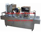 自動コップジュースの満ちるシーリング機械