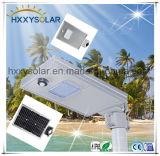 6W tutto in un indicatore luminoso solare della via del LED per la parte esterna