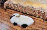 Forma de Koala Animal Sheepskin alfombras para habitación de los niños