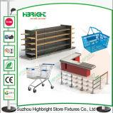 Tienda de ultramarinos de metal Gondola Supermarket Shelf