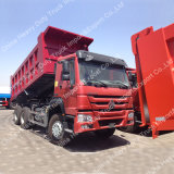 고품질을%s 가진 Sinotruk HOWO 6X4 371HP 쓰레기꾼 트럭 또는 팁 주는 사람 트럭