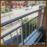 壁に取り付けられたステンレス鋼ケーブルワイヤーバルコニーの柵で囲むこと(SJ-H1203)