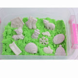 신식 DIY 치료 12의 PCS 백색 눈 피스를 가진 마술 모래 장난감
