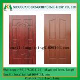 Piel de la puerta de HDF para la piel de la puerta de la melamina de 3m m