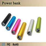 Draagbare 2600mAh Lipstick USB Power Bank voor Cell Phone
