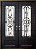 私用家のための無作法な前ドアの機密保護の鉄のドア