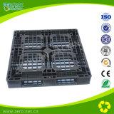 Pallet riciclabile del cassetto di logistica di colore nero