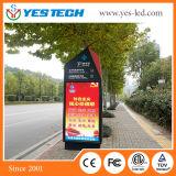 P4, écran de visualisation polychrome de signe de la publicité extérieure DEL de P5mm