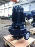 Pompe à canalisations verticales à pompe à eau centrifuge avec certificat SGS