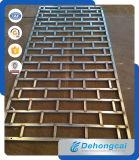 Ventana antirrobo residencial durable del hierro labrado de la seguridad