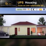 Casa prefabricada hermosa del solo suelo con el garage