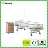 Manuelles Krankenhaus-Bett der Funktions-HK-N209 zwei (medizinische Ausrüstung, Krankenhausmöbel)