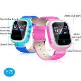 Relógio colorido do perseguidor do GPS dos miúdos de Digitas da tela de toque com tecla Y7s do SOS