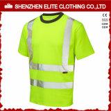 De douane ontwerpt Klasse 2 de Weerspiegelende T-shirt van de Veiligheid