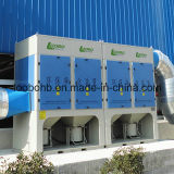 Mutiple Cartridge Filter Dust Collector 또는 Air Cleaning System를 위한 Centralized Welding Fume Extraction