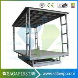 5000kg 5 ton carro elevador elevador de tesoura estacionária com alta qualidade