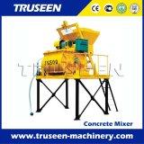 Pequeña máquina de la construcción del mezclador concreto de la cacerola para la venta en Italia