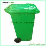 En el exterior de plástico Wheelie Papelera de reciclaje permanente de 240 L
