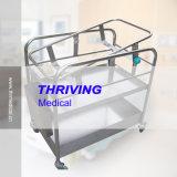 Culla adagiantesi del bambino dell'ospedale dell'acciaio inossidabile (THR-RBS1)
