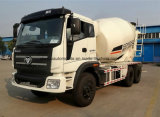LHD Foton 6 판매를 위한 M3 입방 미터 시멘트 믹서 트럭