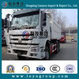 최신 판매를 위한 HOWO 덤프 트럭 수송 광업 또는 바위 또는 모래 팁 주는 사람