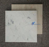 カスタマイズされた自然で白いベージュ木製の大理石表