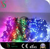 LED de alta calidad de la luz de la cadena en la decoración exterior/interior
